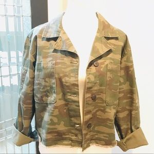Camp crop jacket by Sanctuary